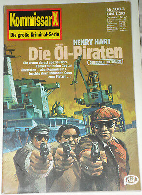 Kommissar X (Pabel) Nr. 1083 *Die Öl-Piraten* RAR