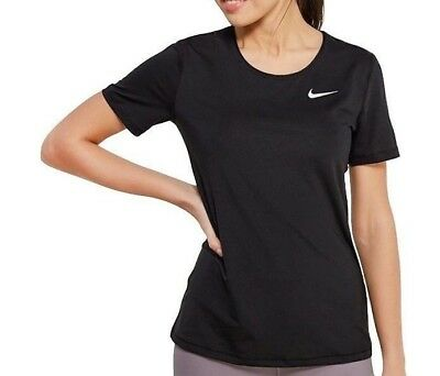 Women/'s Nike Just Do It Training Active Tank Top Black 845698-010 SZ L Dri-Fit