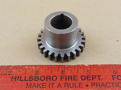 "Nice Original South Bend 13"" Lathe Quick Change Lead Screw 24 Tooth Gear"