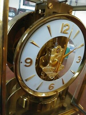 Vintage LeCoultre Atmos Clock 526-5 Clock with Original Box