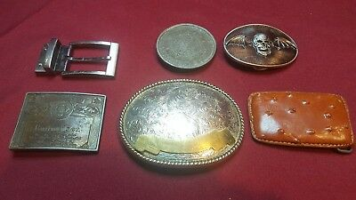 Vintage Collectible Belt Buckles Somewhere Some Fixed And Where