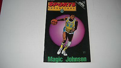 Sports Superstars Comics- Magic Johnson Comic Book