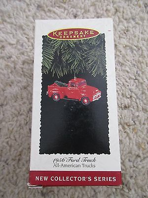 1956 Ford Truck  #1 in series All American Trucks 1995 Hallmark Ornament