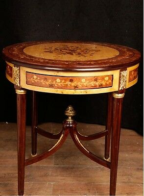 Empire Side Table Cocktail Tables Marquetry Inlay