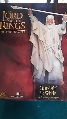 Lord of the Rings GANDALF THE WHITE Sideshow / Weta Polystone Statue