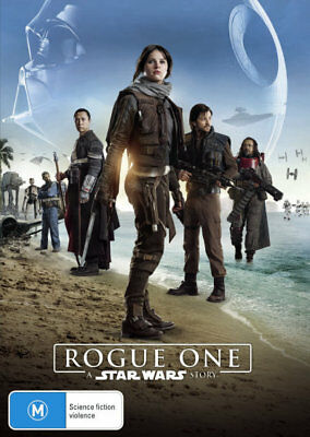 Rogue One: A Star Wars Story = NEW DVD R4