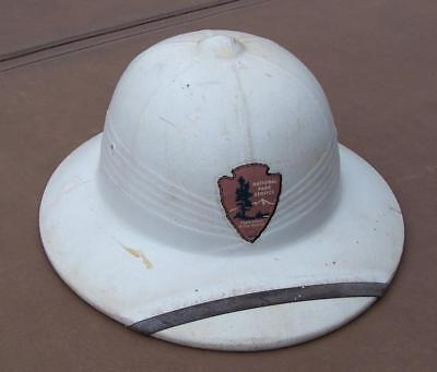 Vintage Pith helmet with National Park Service decal