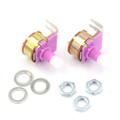 2Pcs WH149 With Switch Potentiometer Adjustable Resistance Component TS