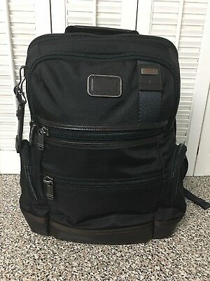 Tumi Alpha Bravo Knox Laptop Business Backpack Hickory 222681hk2