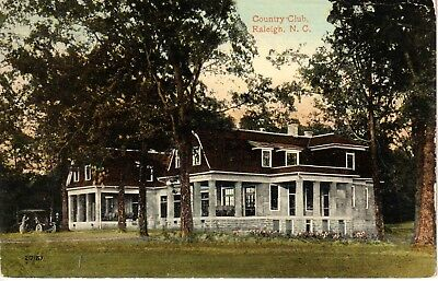 1913 The Country Club in Raleigh, NC North Carolina PC