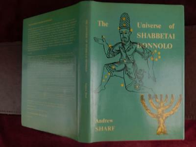 UNIVERSE of SHABBETAI DONNOLO by ANDREW SHARF/JUDAISM/ASTROLOGY/MEDIEVAL/1976