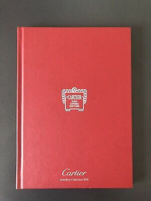 Cartier Jewellery Collection 2016 red book Chinese text catalogue book