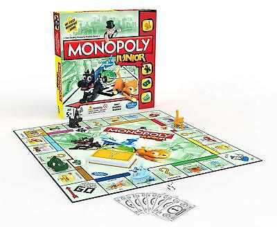 Hasbro Monopoly Junior Classic Kids Property Trading Board Game A6984