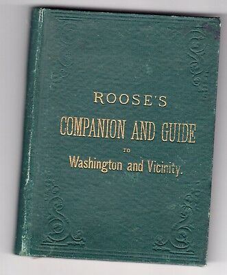 1882 Roose's Guide to Washington, DC