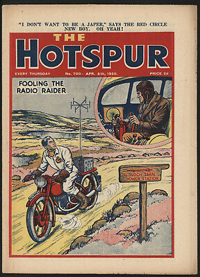 Hotspur #700 Apr 8Th 1950. From An Exceptional Private Collection