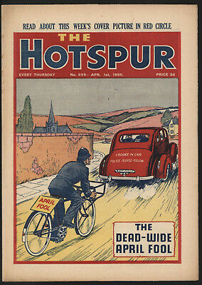 Hotspur #699 Apr 1St 1950. From An Exceptional Private Collection