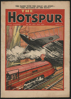 Hotspur #681 Nov 26Th 1949. From An Exceptional Private Collection