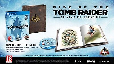 Rise of the Tomb Raider [PS4 / PlayStation 4] Artbook Edition