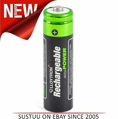 Lloytron B011 Super Rechargeable Accupower AA Ni-MH Batteries 800mAh - 4 Pack