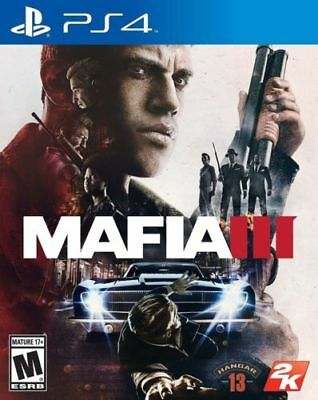 Mafia III 3 RE-SEALED Sony PlayStation 4 PS PS4 GAME M3 MIII