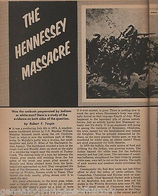 The Hennessey Massacre-Pat Hennessey of Oklahoma+Brooks,Callaway,Fant