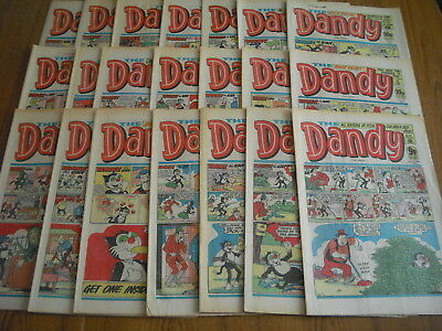 21 x DANDY COMICS - ALL FROM 1982