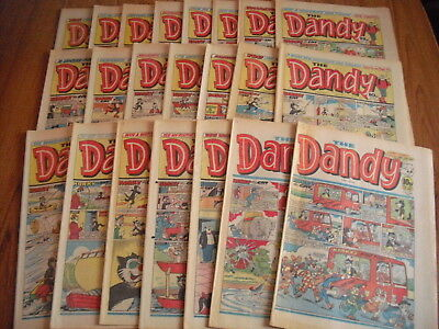 22 x DANDY COMICS - ALL FROM 1983