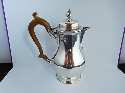 Sweet Victorian English Sterling Silver Whiskey / Water Jug - 1896