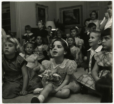 LIZA MINNELLI AS a Child Vintage 1950s Candid Photograph by Bob Willoughby  Rare