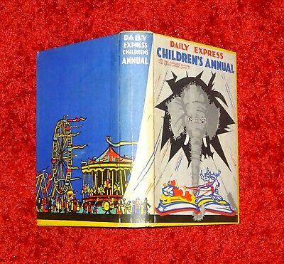 Rare stunning condition Daily Express Children`s Annual 1931 pop up antique book