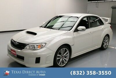 2013 Subaru WRX WRX STI Texas Direct Auto 2013 WRX STI Used Turbo 2.5L H4 16V Manual AWD Sedan Premium