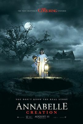 Annabelle Creation - original DS movie poster - 27x40 D/S 2017 Advance