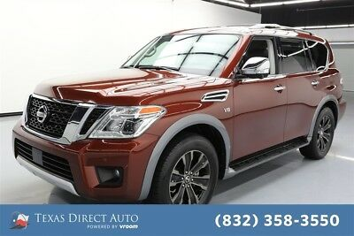 2018 Nissan Armada Platinum Texas Direct Auto 2018 Platinum Used 5.6L V8 32V Automatic AWD SUV Bose
