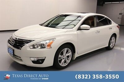 2013 Nissan Altima 2.5 SL Texas Direct Auto 2013 2.5 SL Used 2.5L I4 16V Automatic FWD Sedan Moonroof Bose