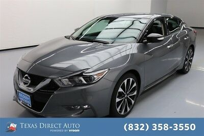 2016 Nissan Maxima 3.5 SR Texas Direct Auto 2016 3.5 SR Used 3.5L V6 24V Automatic FWD Sedan Bose Premium