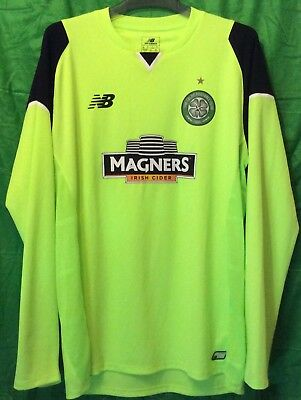 Celtic FC 2016/17 Prototype Home Goalkeeper Shirt  Large Mens