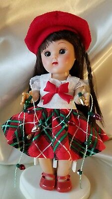 vintage reproduction Ginny Muffie Holiday outfit 8 inch 7 inch doll clothes