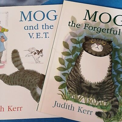 Books X Two / Mog / Immaculate Condition