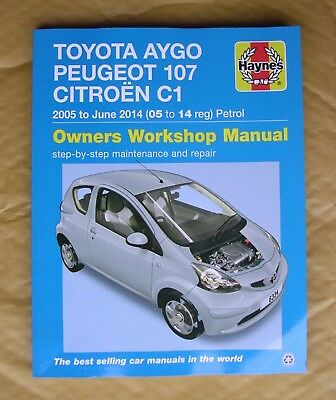 haynes manual toyota aygo