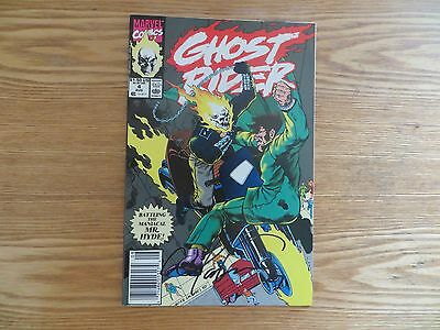 1990 Vintage Marvel Ghost Rider # 4 Signed By Mark 'tex' Texeira Art, With Poa