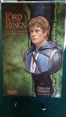 Lord of the  Rings SAMWISE GAMGEE Sideshow Polystone Bust