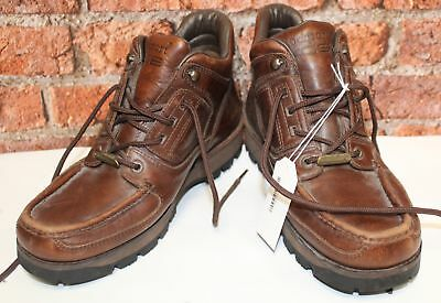 65f11c5e0e2 MENS ROCKPORT XCS Brown Leather Lace Up Ankle Boot Size UK 9 - S22