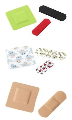 IKEA TRYGGHET Children's Plasters Bandages Assorted Colours - 40 Plasters