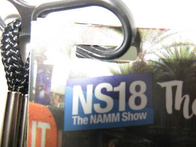 2019 Winter Namm Anaheim Convention Center 4 Day Access Badge