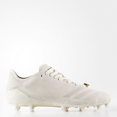 b8787d48332 New Adidas Adizero 5-Star 6.0 Low Sundays Best Mens Football Cleats White  Suede