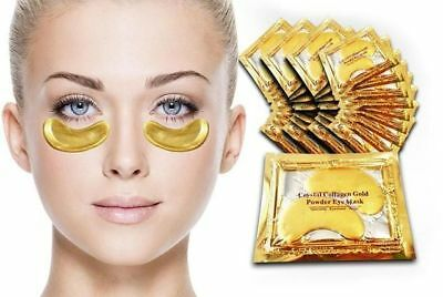 100 Pairs Collagen Eye Mask Anti Wrinkle Pad Golden Collagen Anti Ageing Masks