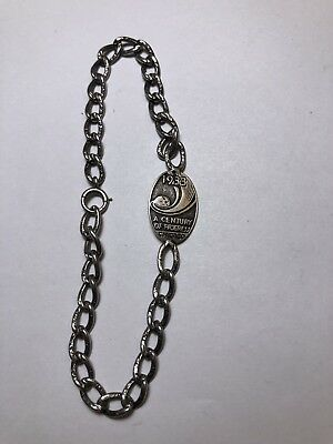 Chicago Worlds Fair Sterling Silver Bracelet A Century Of Progress 1933 Lebolt