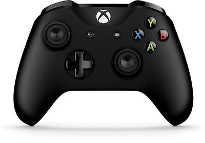 Official Microsoft Xbox One S Wireless Controller - Black