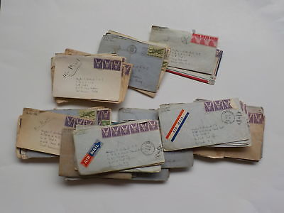 57 WWII Letters Wife 31st Naval Construction Battalion Lawton Oklahoma Lot WW2