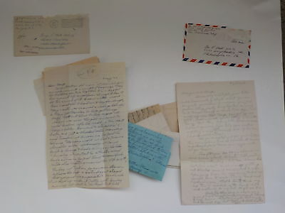 14 WWII Letters Navy George Mell Collection World War Two Lot Correspondence WW2